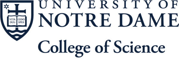 University of Notre Dame College of Science Logo
